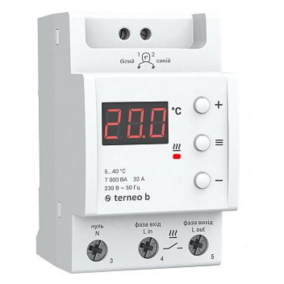 Terneo b - Аналоговые термостаты для теплого пола фото