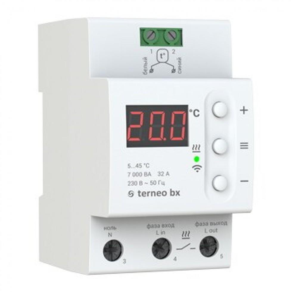 Terneo bx - Программируемые термостаты для теплого пола фото