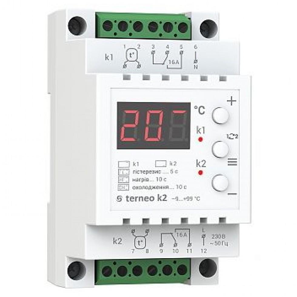 Terneo k2 - Аналоговые термостаты для теплого пола фото