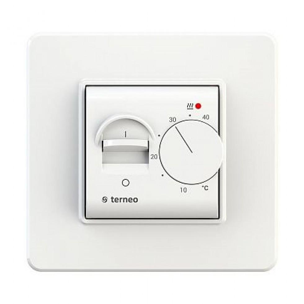 Terneo mex - Аналоговые термостаты для теплого пола фото